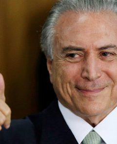 Президент Бразилии М.Темер